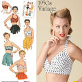 Simplicity Pattern 1426D5 4-6-8-10-1-Misses Tops Vests