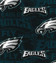 Philadelphia Eagles Fleece Fabric -Fly Eagles Fly, , hi-res