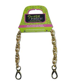Blumenthal Purse-N-Alize Chain Link Hndl Gld