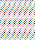 Basics Patterned Cardstock 12\u0022X12\u0022-Light Pink Multi Dot