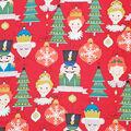 Christmas Cotton Fabric-The Nutcracker