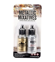 Ranger Tim Holtz Adirondack Alcohol Ink Metallic Mixatives, , hi-res
