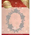 Find It Trading Precious Marieke Die-Poinsettia Oval