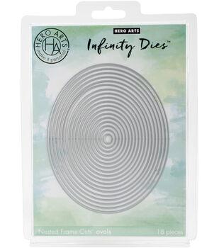 Hero Arts Infinity Dies-Nesting Oval