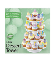 Wilton Stacked 4-Tier Cupcake and Dessert Tower, , hi-res