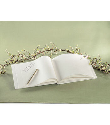 Wilton Natural Paper Guest Book