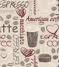 Snuggle Flannel Fabric 42\u0027\u0027-Latte