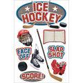 Paper House 3D Sticker Ice Hockey