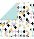 Cricut 10 Pack 12\u0027\u0027x12\u0027\u0027 Deluxe Papers-Pastel Geometrics