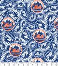 New York Mets Cotton Fabric -Mascot Logo