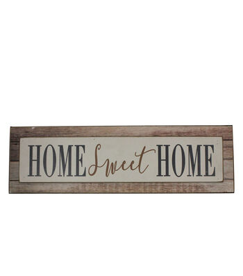 Simply Autumn Word Block-Home Sweet Home