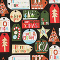 Christmas Cotton Fabric-Just For You