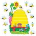 Busy Bees Job Chart Plus Bulletin Board Set, 2 Sets