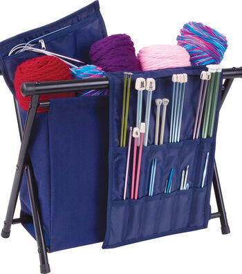 "ArtBin Needle Arts Caddy 20""X18""X2""-Navy"