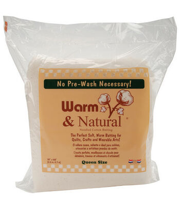 The Warm Company Warm & Natural Cotton Batting 90''x108''