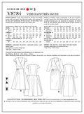 Vogue Patterns Misses Dress-V8784