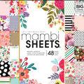 Me & My Big Ideas Mambi 48 Sheets Single-sided Paper Pad-Botanicals