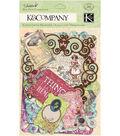 K & Company Cardstock Die Cuts Tags & Note Cards Jubilee