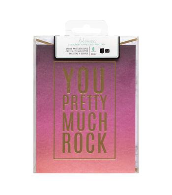Heidi Swapp Stationery A2 You Rock