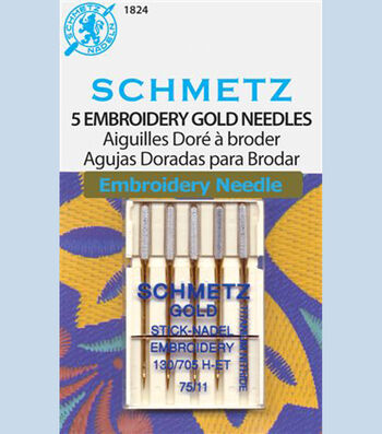 Schmetz-Gold Embroidery-Sz 11