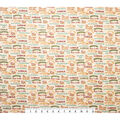 Novelty Cotton Fabric-Welcome to the Deer Lodge