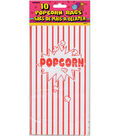 Unique 10\u0022x5-1/4\u0022 Popcorn Party Bags-10PK