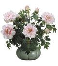 Bloom Room Luxe 26\u0027\u0027 Peony In Ceramic Pot-Pink