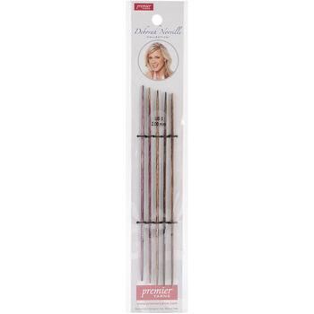 "Deborah Norville Double Pointed Needles 6""-Size 0/2.0mm"