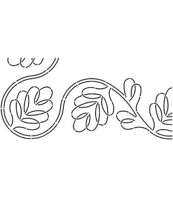 Stensource Pepper Cory Quilt Stencil