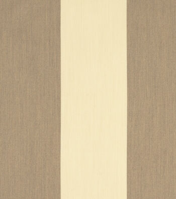 "Sunbrella Outdoor Stripe Fabric 54""-Regency Sand"