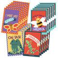 Carson Dellosa Nature Mini Cutout Reward Explorer Tags, 49 Per Pack