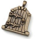 Darice Fairy Door Metal Charm 1/Pkg-Antique Bronze Dome