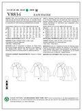 Mccall Pattern V8834 10-12-14-1-Vogue Pattern