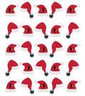 EK Success Dimensional Stickers-Santa Hat Repeats