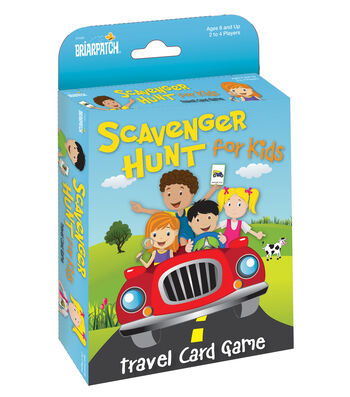 Scavenger Hunt For Kids Card Game
