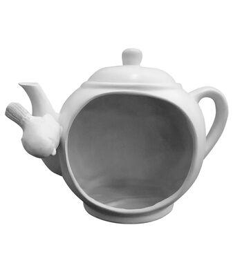 Simply Spring Birdhouse Large Resin-Teapot