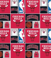 Chicago Bulls Cotton Fabric -Patch, , hi-res