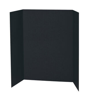"Pacon 48""x36"" Presentation Board-Black"