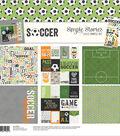Simple Stories Simple Sets Collection Kit 12\u0022X12\u0022-Soccer