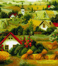 Serbian Landscape Counted Cross Stitch Kit 10 Count