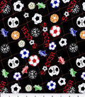 Novelty Cotton Fabric 43\u0027\u0027-Soccer Ball