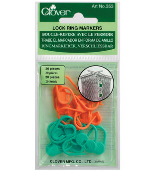 Clover Locking Stitch Marker