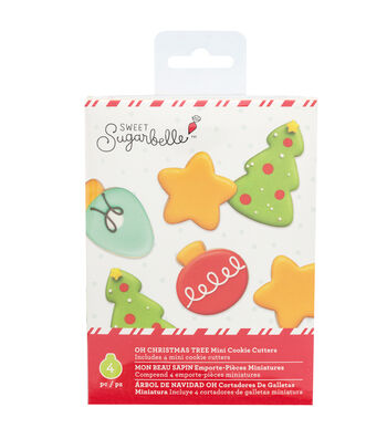 Sweet Sugarbelle Christmas Mini Cookie Cutter Set-Oh Christmas Tree