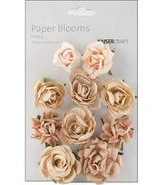 Paper Blooms-10Pk, , hi-res