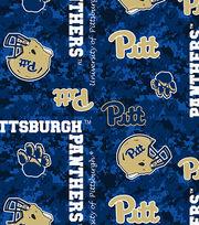"University of Pittsburgh Panthers Fleece Fabric 60""-Digital Camo, , hi-res"