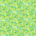 Keepsake Calico Cotton Fabric-Green Packed Floral