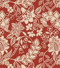 Home Decor 8\u0022x8\u0022 Fabric Swatch-Waverly Garden Flurry Poppy