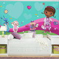 York Wallcoverings Pre Pasted Mural-Doc Mcstuffins and Friends