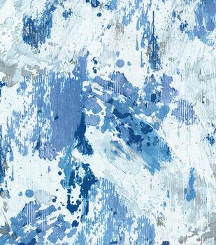 P/Kaufmann Multi-Purpose Decor Fabric-Abstract Azure
