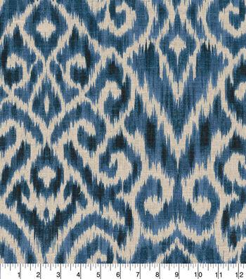 "Home Decor 8""x8"" Fabric Swatch-Thompson Ikat Ink"